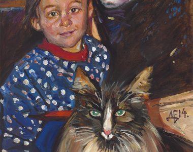 Portrait of Miroslava