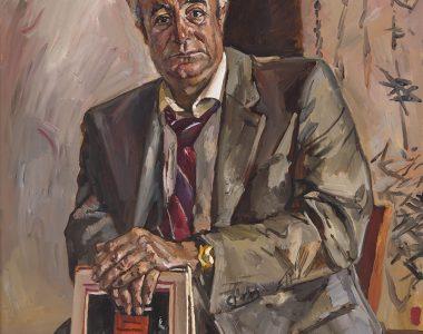 Portrait of Kurbannazar Orazkuliyev, Writer