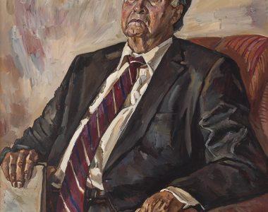 Portrait of Toychi Ishankuliyev, Surgeon