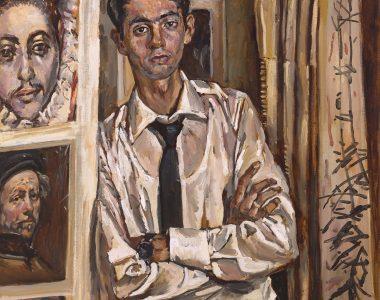 Portrait of Kakajan Hodjakuliyev, Student of the Art Academy of Turkmenistan