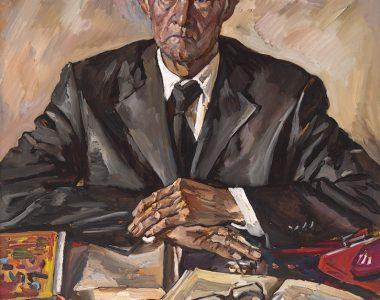 Portrait of Kayum Tanrykuliyev, People's Writer of Turkmenistan