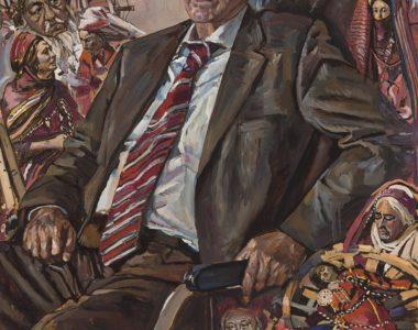 Portrait of Hojakuli Narliyev, People's Artist of Turkmenistan, USSR State Prize Winner, and Film Director