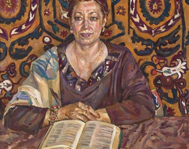 Portrait of Maral Annanurova, Architect and Artist