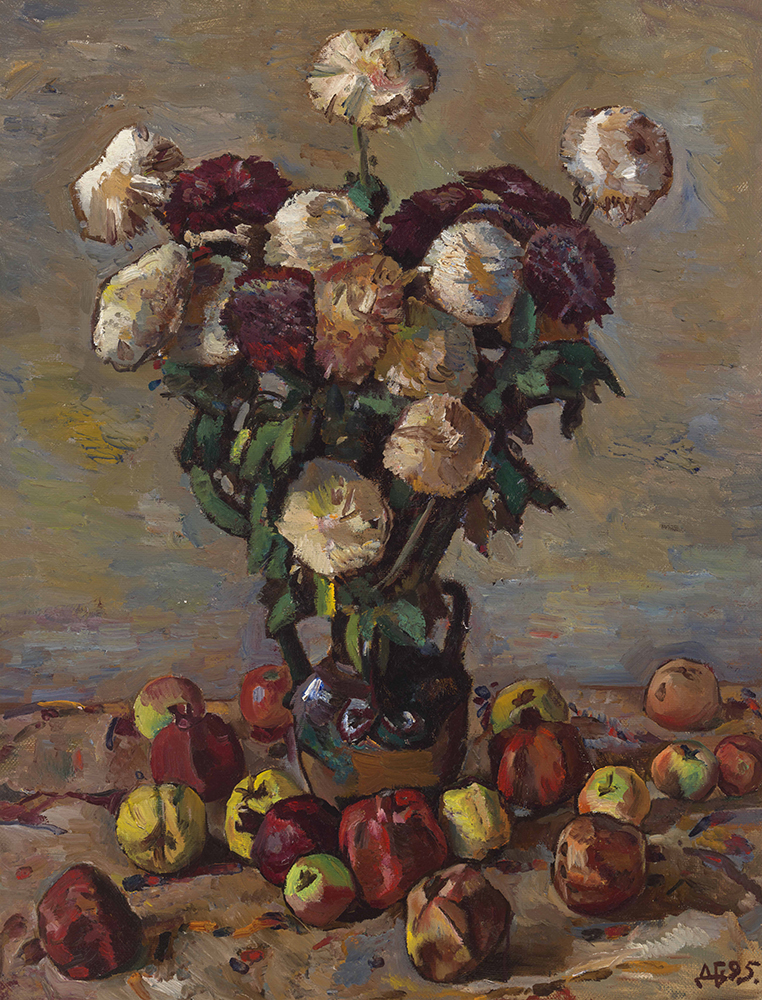 Autumn Flowers and Fruit