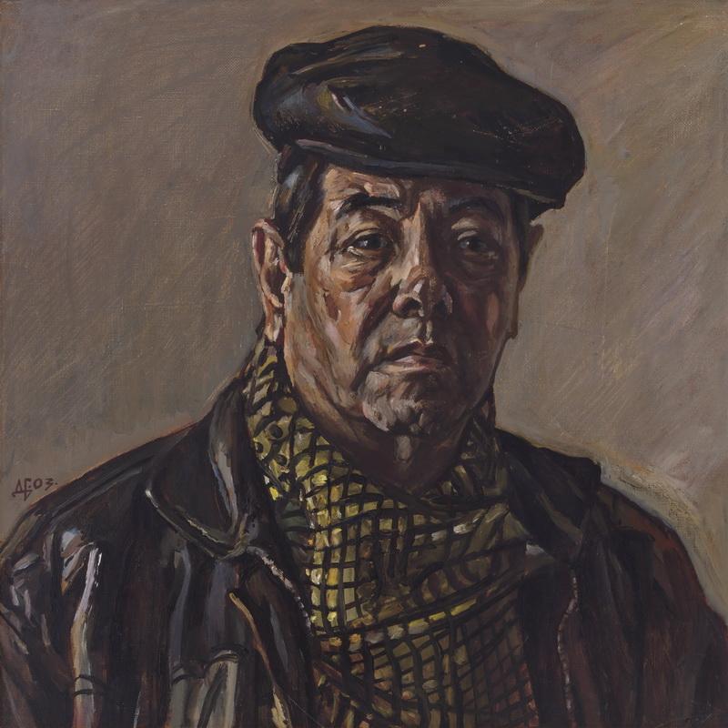 Durdy Bayramov. Self-Portrait, 2003