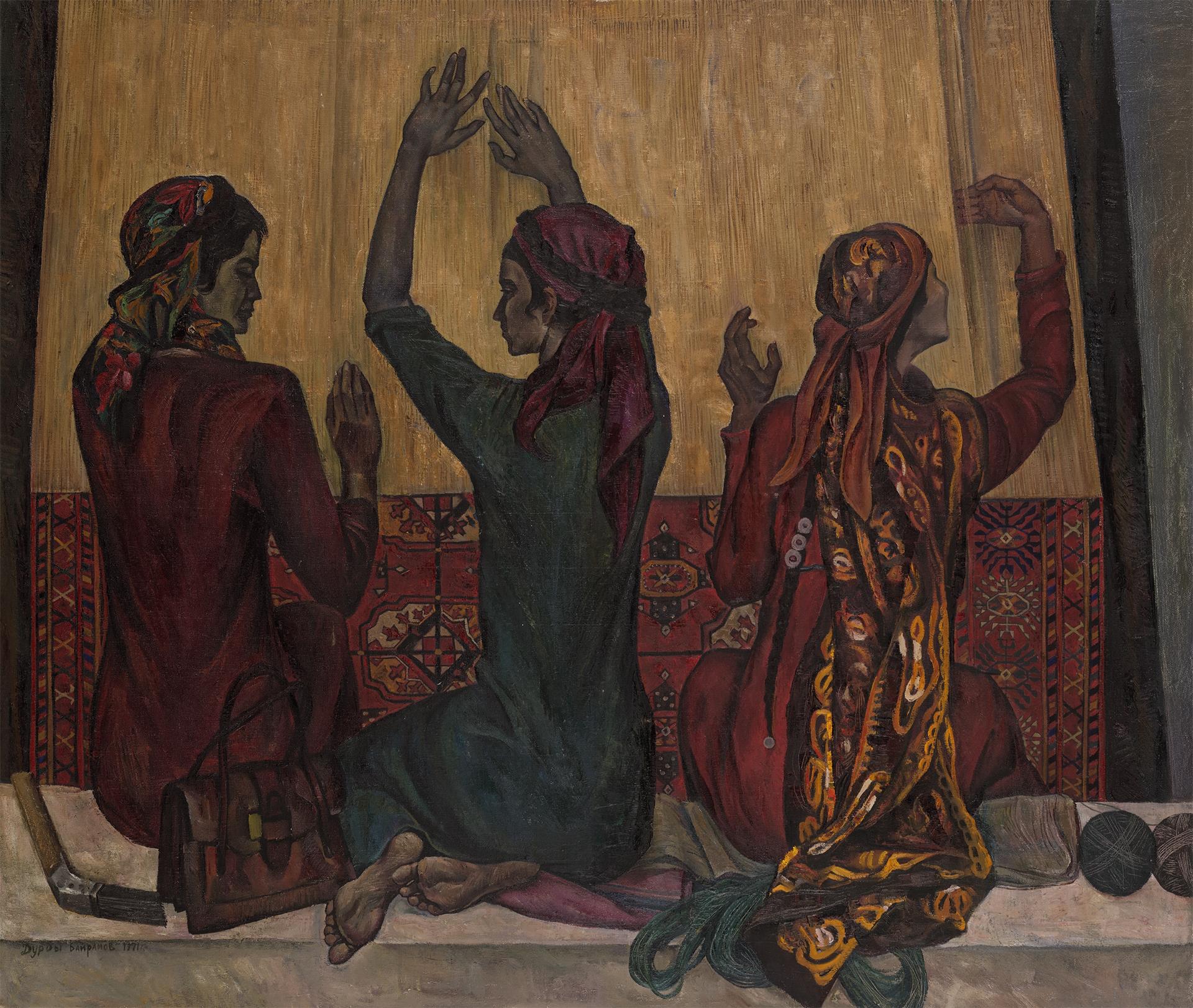 Turkmen Carpet Makers