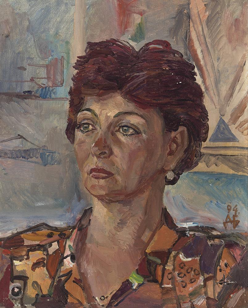Portrait of O. Mirzoeva