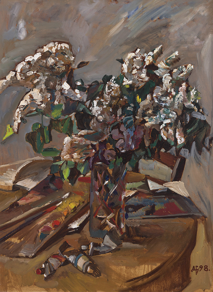 Still Life, White Lilac